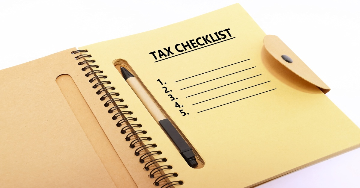 Small Business Tax Preparation Checklist